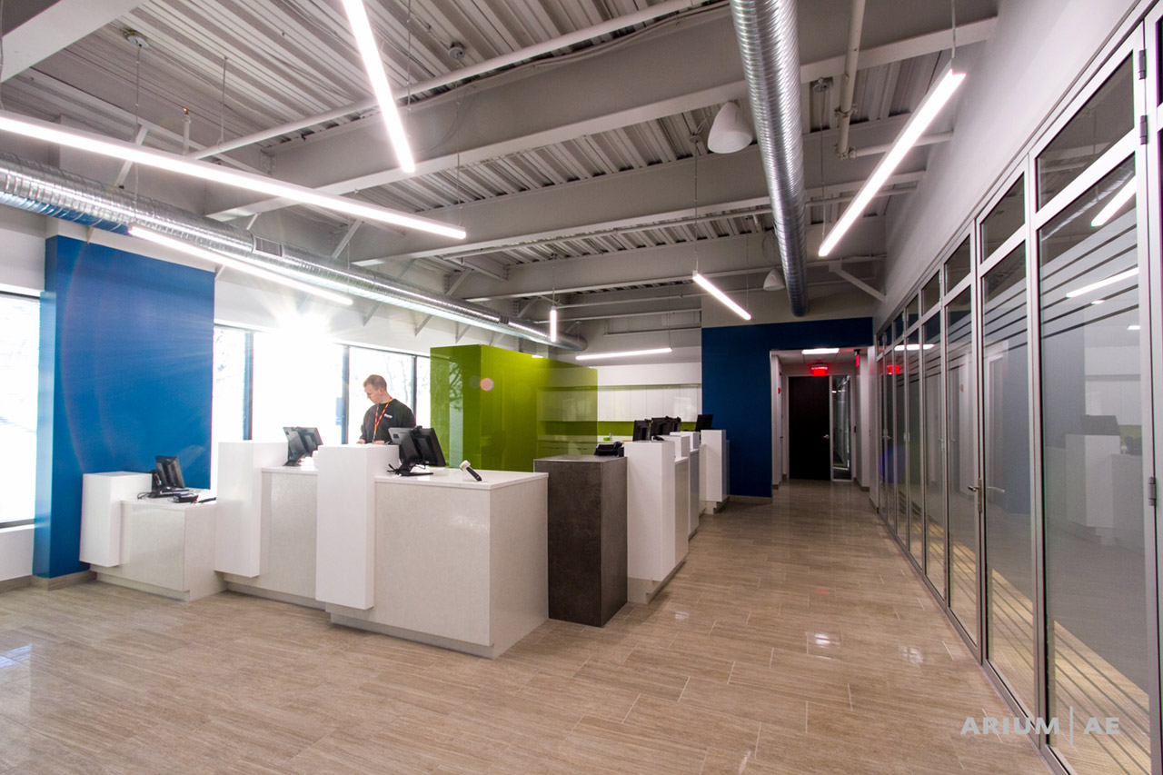 Ariumu0027s Integration Of Natural Light, Branding Aesthetics, And Versatile  Workspaces Into A New Office For The Columbia Association Helped Them  Better Serve ...