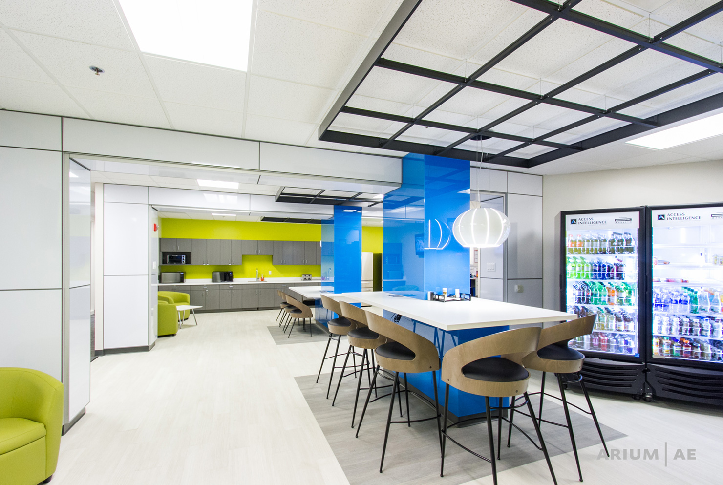 3 long term trends in commercial office interiors arium for Office design usa