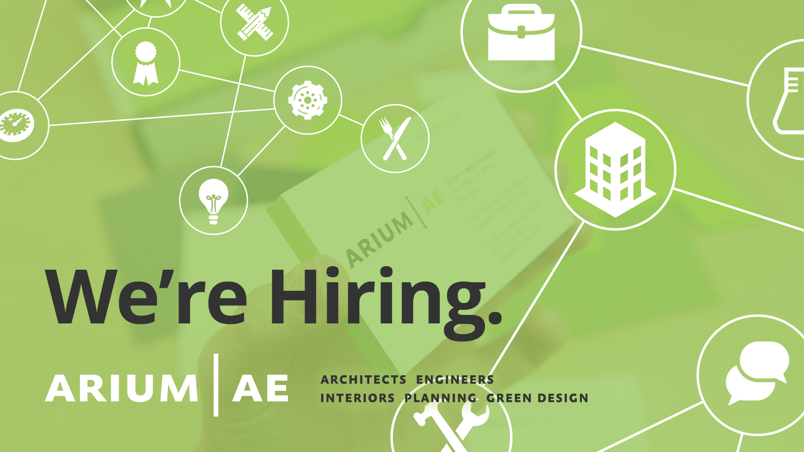 Arium AE: Now Hiring Architects, Interior Designer, Sr. Electrical ...
